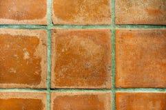 Piastrelle per pavimento beige e marroni Fotografie Stock