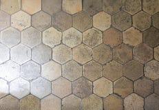Piastrelle per pavimento esagonali fotografia stock immagine di