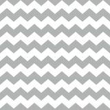 Piastrelli il modello di vettore del gallone con il fondo bianco e grigio di zigzag Fotografie Stock Libere da Diritti