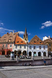 Piata Mica - Sibiu Royalty Free Stock Photography