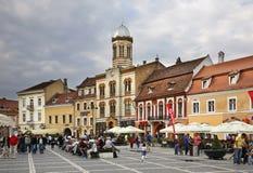 Piata Sfatului in Brasov. Romania Royalty Free Stock Images