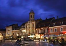 Piata Sfatului in Brasov. Romania Stock Image