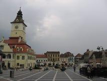 Piata Sfatului - Brasov, Romania Immagini Stock
