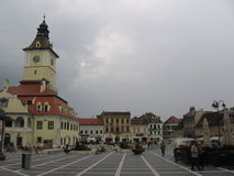 Piata Sfatului - Brasov, Romania Stock Images