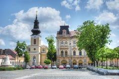 Piata Traian Square, Timisoara, Romania Royalty Free Stock Photo