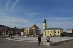 Piata Unirii. Oradea, Romania royalty free stock images