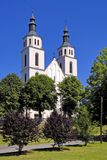 Piatnica, Poland - the Transfiguration parish church in the town Stock Image