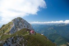 Piatra Craiului国家公园,喀尔巴阡山脉,罗马尼亚 免版税库存照片