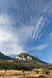 Piatra Craiului Ansicht stockfoto
