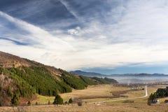 Piatra Craiului Ansicht stockfotografie
