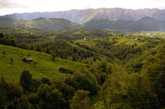 Travel to Romania: Piatra Craiului Mountain  Royalty Free Stock Image