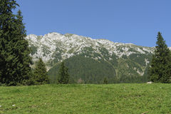 Piatra Craiului Mountains Stock Photo
