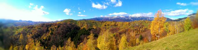 Piatra Craiului Mountains Stock Image