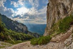 Piatra Craiului Mountains in Romania Royalty Free Stock Photography