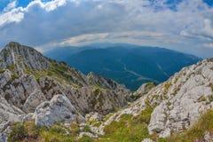 Piatra Craiului Mountains in Romania Stock Photos