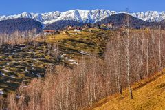 Piatra Craiului mountains, Romania Royalty Free Stock Photos