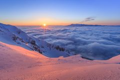 Piatra Craiului Mountains, Romania Stock Images
