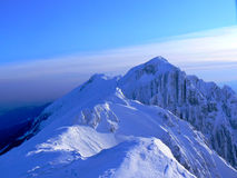 Piatra Craiului ridge Royalty Free Stock Image
