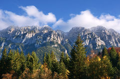 Piatra Craiului ridge Royalty Free Stock Photo