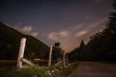 Piatra Craiului, Rumänien Arkivfoto