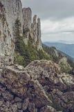 Piatra Mare Massif, Romania Fotografia Stock Libera da Diritti