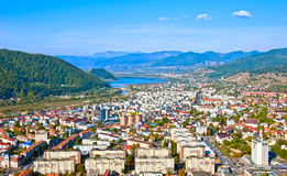 Piatra Neamt city view Royalty Free Stock Photo