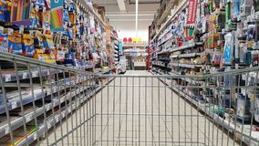Stationer retail shop Stock Photos