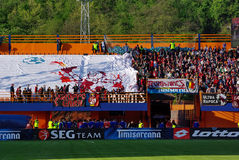 Piatra Neamt stadium Royalty Free Stock Images