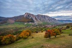 Piatra Secuiului på hösten Royaltyfri Fotografi