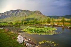 Piatra Secuiului, Szekelyko mountain Stock Images
