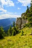 Piatra Soimului-Rarau-Rumänien Royaltyfria Bilder