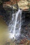 Piatt parkerar vattenfallet Fotografering för Bildbyråer