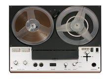 Piattaforma aperta del registratore di nastro della bobina dell'annata Fotografia Stock Libera da Diritti
