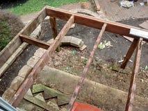 Piattaforma in costruzione Fotografie Stock Libere da Diritti