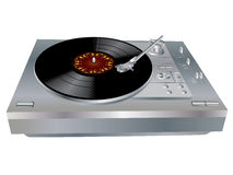 Piattaforma del DJ Fotografie Stock