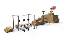 Piattaforma del gioco Fotografie Stock