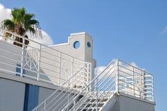Piattaforma del tetto di una casa Immagini Stock