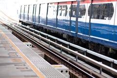 Piattaforma del treno. Immagine Stock