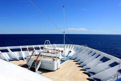 Piattaforma della nave Fotografia Stock Libera da Diritti
