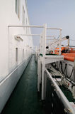 Piattaforma della nave Fotografia Stock