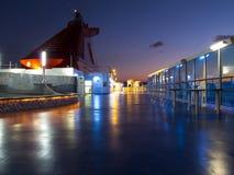 Piattaforma della nave Immagini Stock