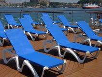 Piattaforma della nave da crociera Fotografie Stock
