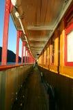 Piattaforma della nave del vapore Fotografie Stock