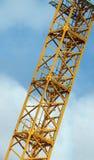 Piattaforma della torretta della gru dell'amo Immagini Stock