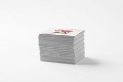 Piattaforma delle schede di gioco Fotografia Stock Libera da Diritti