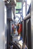 Piattaforma di carico della nave Fotografia Stock