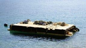 Piattaforma di galleggiamento Fotografie Stock Libere da Diritti