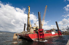 Piattaforma di galleggiamento funzionante Immagini Stock Libere da Diritti