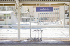 Piattaforma di Kufstein Immagini Stock