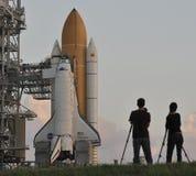 Piattaforma di lancio della spola degli Stati Uniti fotografia stock